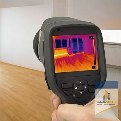 A Thermal Imaging Camera Picks Up Heat Near Windows.