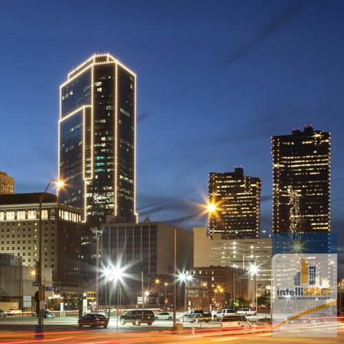Fort Worth, TX, Skyline.